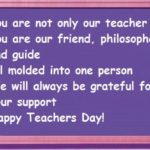Thoughts On Happy Teachers Day Pinterest