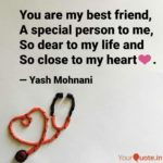 To My Special Friend Quotes Twitter