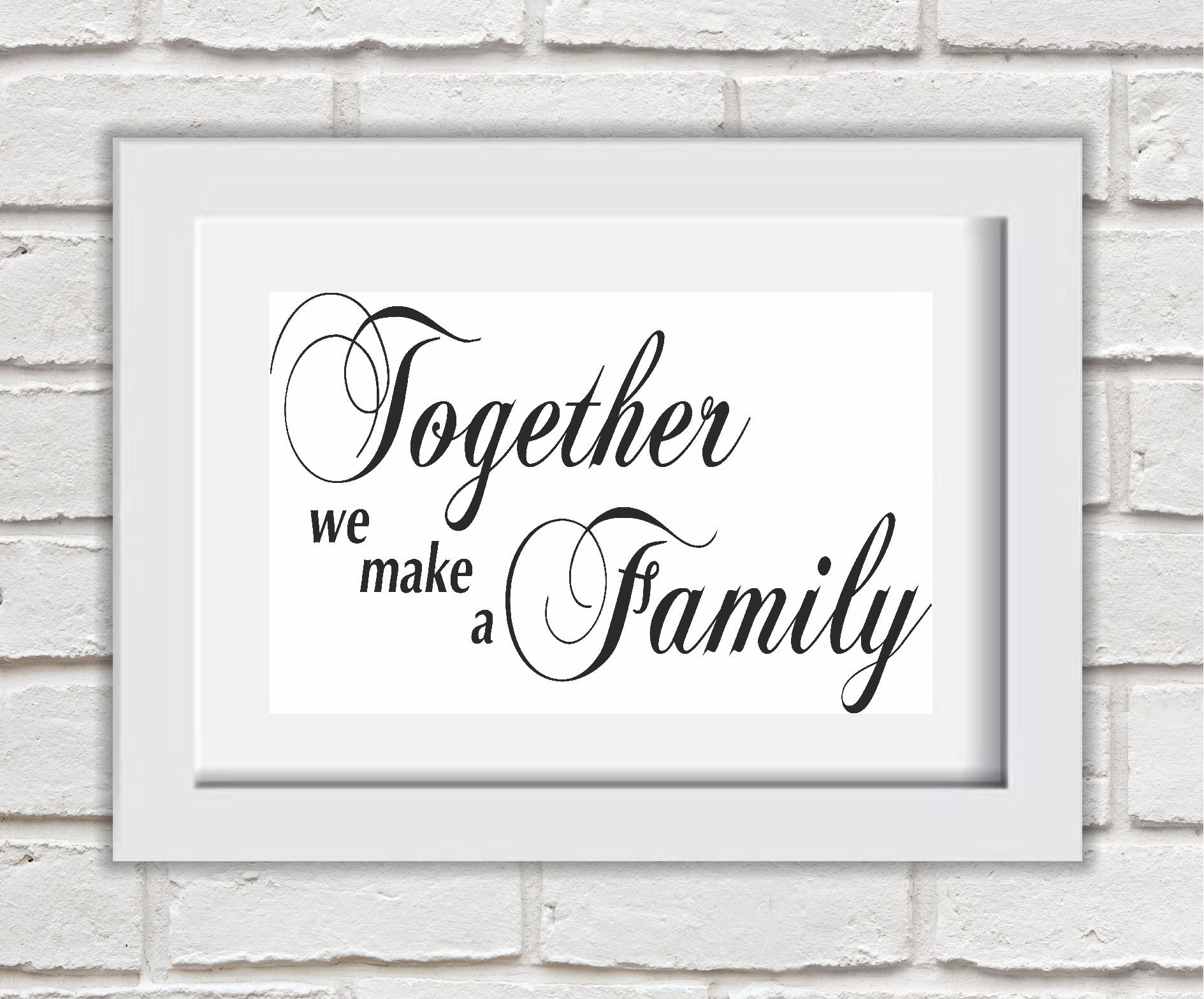 Together We Make A Family Quote Twitter