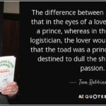 Tom Robbins Quotes On Love Pinterest