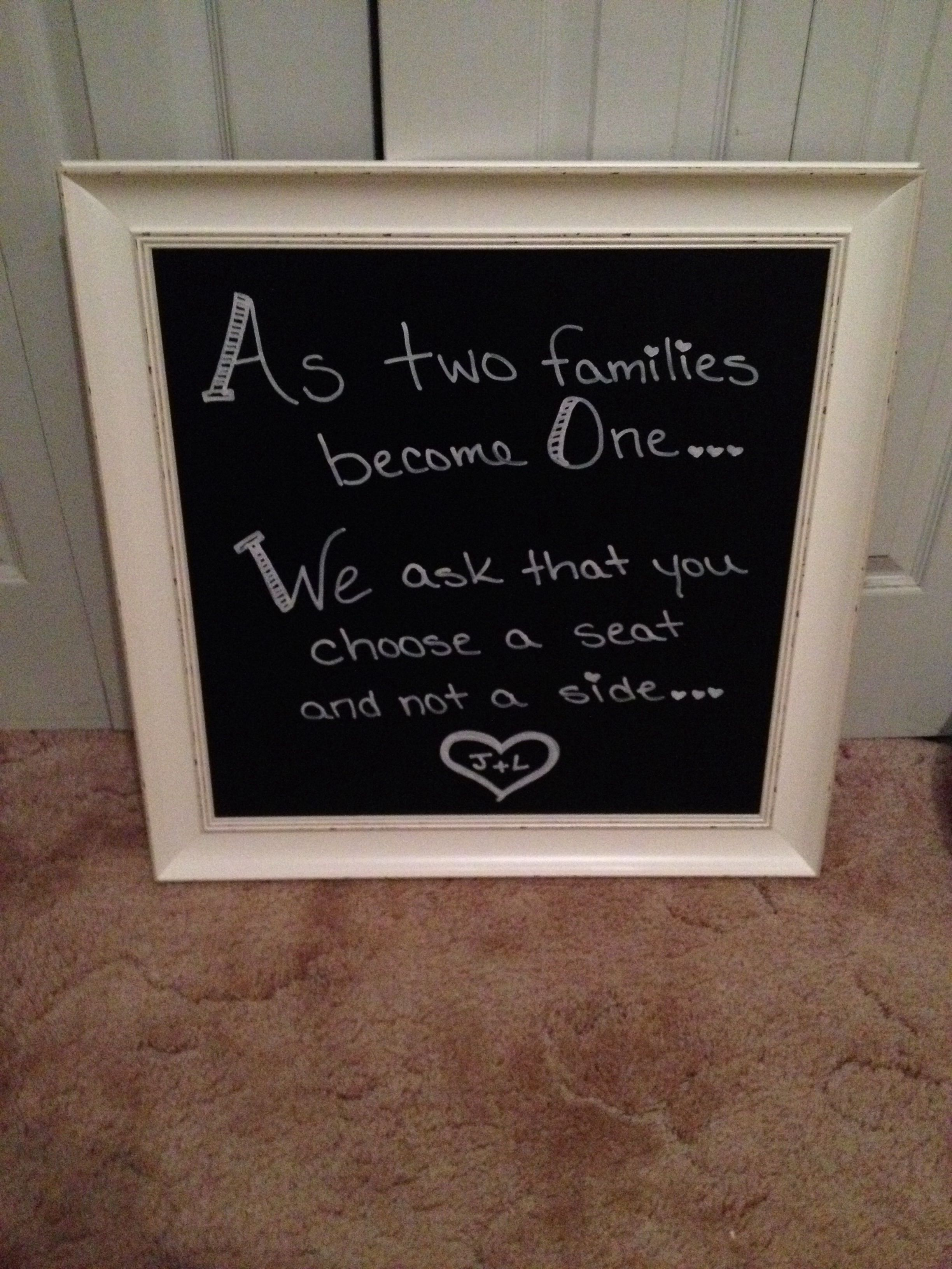 Two Families Become One Quotes
