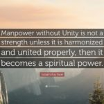 Unity Makes Strength Quote