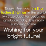 University Graduation Wishes For Daughter Facebook