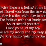 Valentine Message To A Boyfriend Pinterest