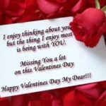 Valentine's Day Miss You Messages Pinterest