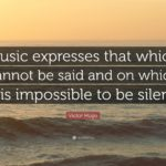 Victor Hugo Music Quote Pinterest