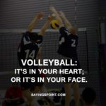 Volleyball Captions With Friends