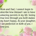 Wedding Anniversary Quotes For Mom And Dad Facebook