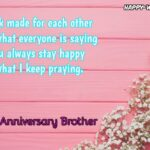 Wedding Anniversary Wishes For Brother And Sister Tumblr