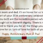 Wedding Anniversary Wishes To Father And Mother Facebook