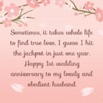 Wedding Anniversary Words For Husband Tumblr