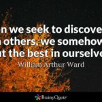 William Arthur Ward Quotes Facebook