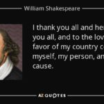 William Shakespeare Thank You Quotes Facebook