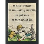 Winnie The Pooh Making Memories Quote Pinterest