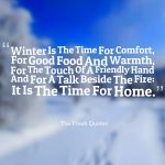 Winter Food Quotes