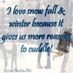 Winter Romantic Quotes Tumblr
