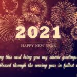 Wishes For 2021 New Year Facebook
