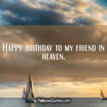 Wishing Someone A Happy Birthday In Heaven Facebook