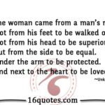 Woman Was Made From The Rib Of Man Quote Twitter