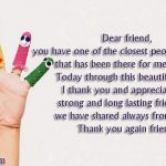 Words Of Appreciation For Friends