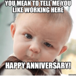 Work Anniversary Funny Facebook