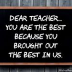 You Are My Best Teacher Quotes Facebook