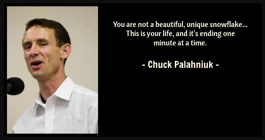 You Are Not A Unique Snowflake Quote