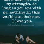 Your Love Is My Strength Quotes